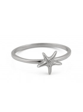 Ring - Silver Sea Star EU52