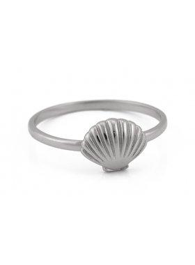 Ring - Silver Sea Shell EU56