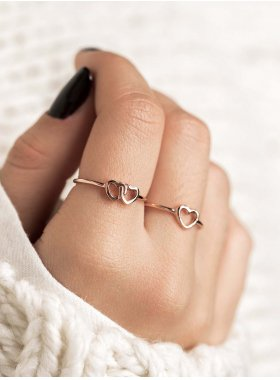 Ring - Two Hearts EU56